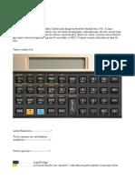 HP 12C (Apresentação)