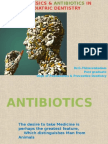 Analgesics & Antibiotics in Pediatric Dentistry