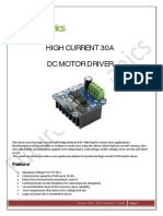 30A Motor Driver