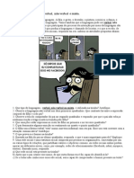 Atividades Linguagem Verbal e Não Verbal