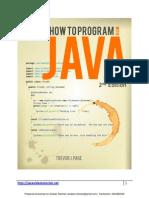 How To Program Java Deitel And Deitel Ebook