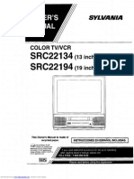 Src22134 Owners Manual
