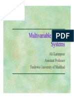 Multivariable Control Systemsariable Lec5