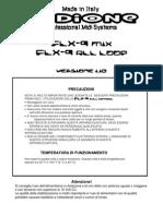 Manuale Utente FLX-9 1.10