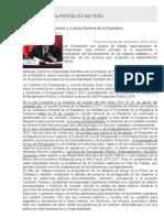Congreso de La República Del Perú Imprimir