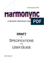 A first look at THE HARMONYNC