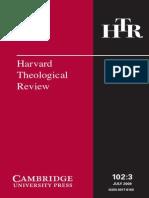 Harvard Theological Review Vol. 102 (3)