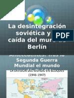 Presentation Caida Del Muro de Berlin