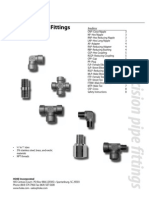Hoke Pipe Fittings With Abbreviations