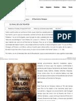 Apocalipsis Mariano - El Final de Los Tiempos