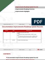 (for Customer)Wireless OSS Documentation Improvements Roadmap V2.0