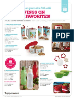 Tupperware Holiday Sale End Sept 11