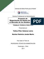 Proyecto de Exportación de Harina de Lúcuma