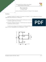 DI y Momento Curvatura - Columna T