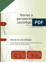 Teorías y Perspectivas Sociológicas