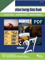 Book-transportation Energy Data Book-stacy c Davis