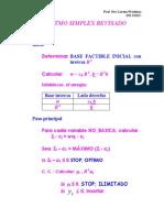 Algortimo simplex revisado