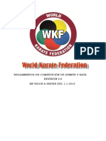 Wkf Competition Rules Version9 2015 Spanish