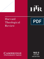 Harvard Theological Review 2009-3.