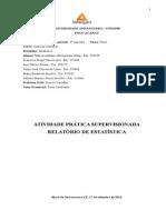 Universidade Anhanguera - Atps de Estatistica