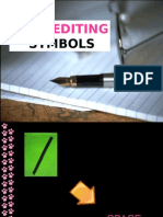 Copy Editing Symbols (based on PDI stylebook)