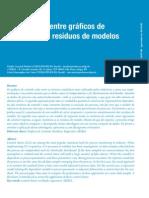 Comparação entre gráficos de controle para resíduos de modelos