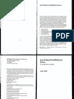 ABEDI, Amir. Anti-political Establishment Parties; A Comparative Analysis.