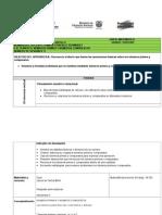 Plan Clases Matematica Conjuntos 1