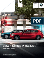 F20 1 Series Hatch 5door Pricelist