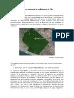 Impacto Ambiental a Los Pantanos de Villa