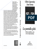 Lipovestky- La Pantalla Global