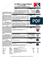 Minor League Report 15.08.29