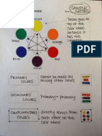 color theory crash course sample notes