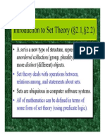 3 Introduction to Set Theory