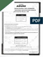 Decimotercer Examen Tipo de Admision Ciclo Anual San Marcos - 2012.pdf
