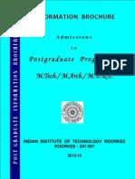 PG Information Brochure