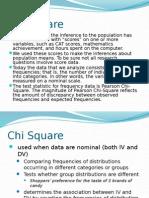 Chi Square (2)