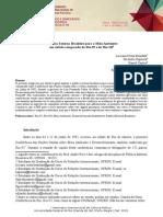 BRANDAO et al 2015 A política externa brasileira para o meio ambiente