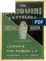 Ron Daiquirí Coctelera Cocktail Book 1948