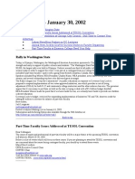 News Brief 2003-01-30