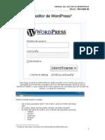 Manual de Editor de WordPress en Uso