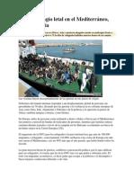 Naufragio Letal en El Mediterráneo