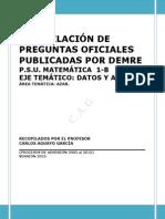 Recopilacion Demre 1 - b Datos y Azar 2015