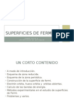 Superficies de Fermi