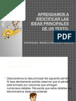 aprendamos a identificar lasideasprincipalesdeun-101210212008-phpapp01