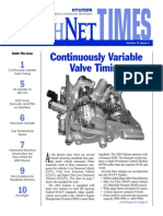 continuously variable valve timing