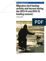 migratory bird hunting activity and harvest 2014-2015 hunting seasons estimates