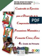 Cuadernillo 4° Primaria Comprensión Lectora