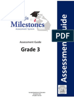 third grade georgia milestones assessment guide