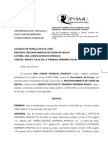 Demanda Reconoc Unión de Hecho-Ana Aparicio